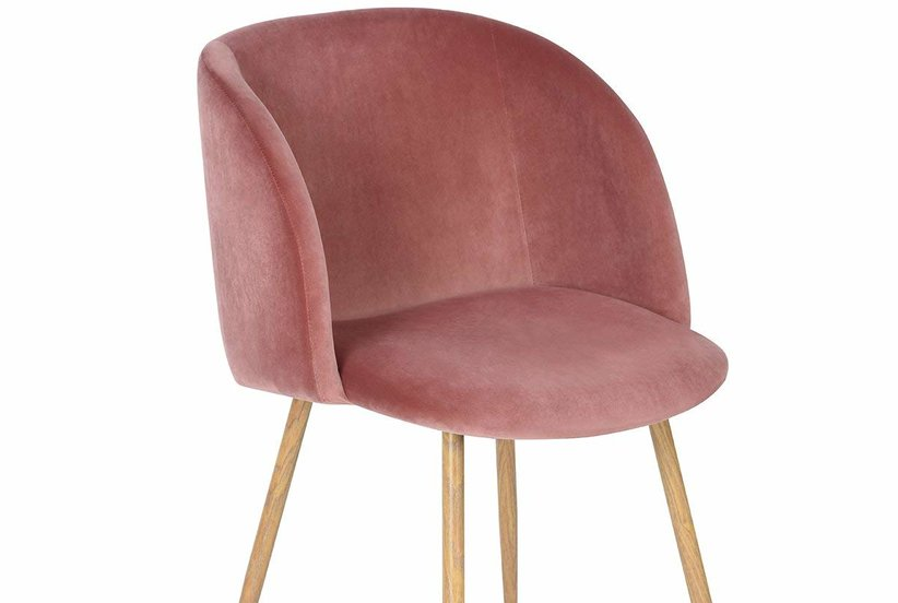 This Velvet Side Chair Is So Chic—and You'll Never Believe Where it's From
