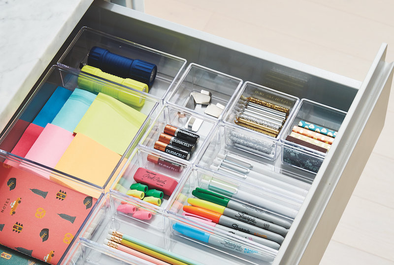 The Trick to Organizing a Messy Junk Drawer