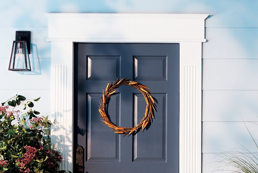 Stylish Yet Simple Front Door Decor To Amp Up Curb Appeal Real