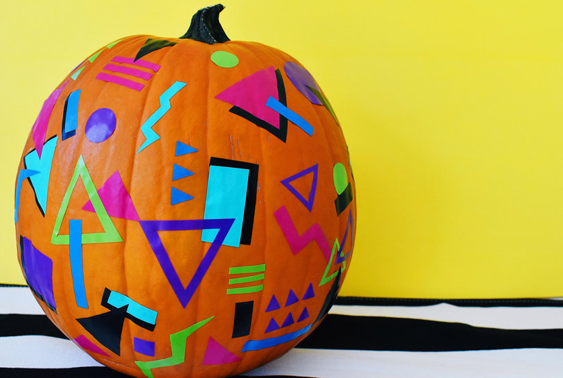 The Easiest Ever No-Carve Pumpkin Decorating Ideas