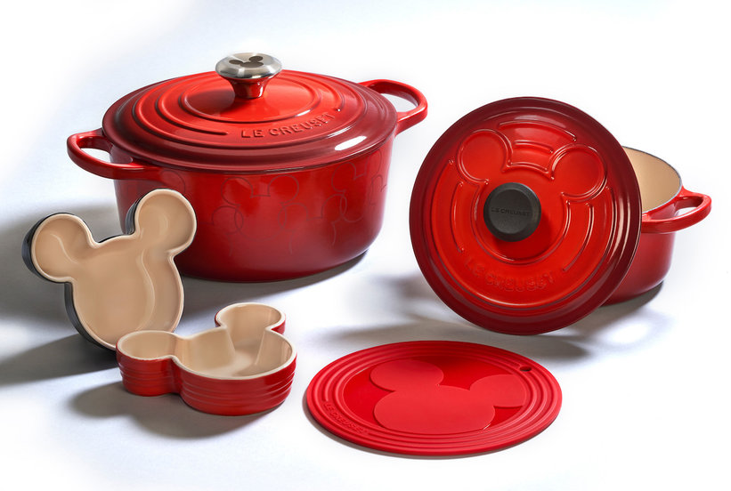 Le Creuset's Mickey Mouse Cookware Will Make Your Childhood Dreams Come True