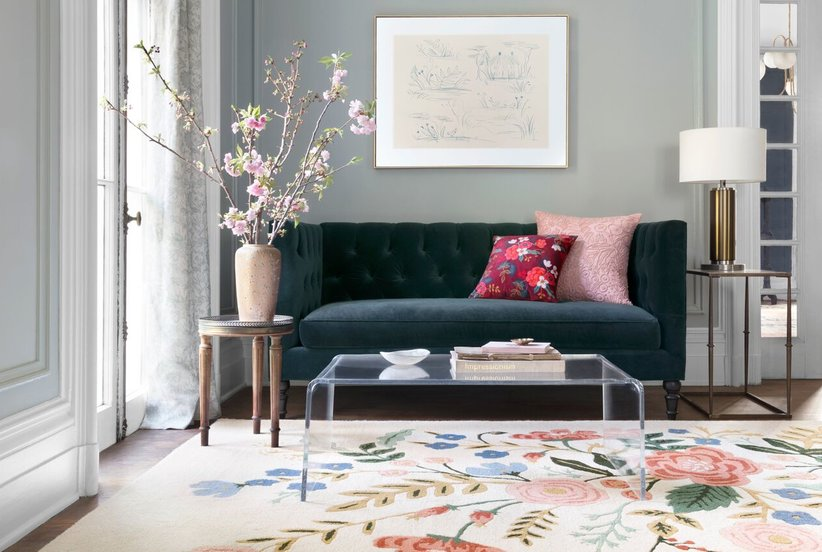 4 Tricks To Using Floral Patterns Without It Being Overwhelming
