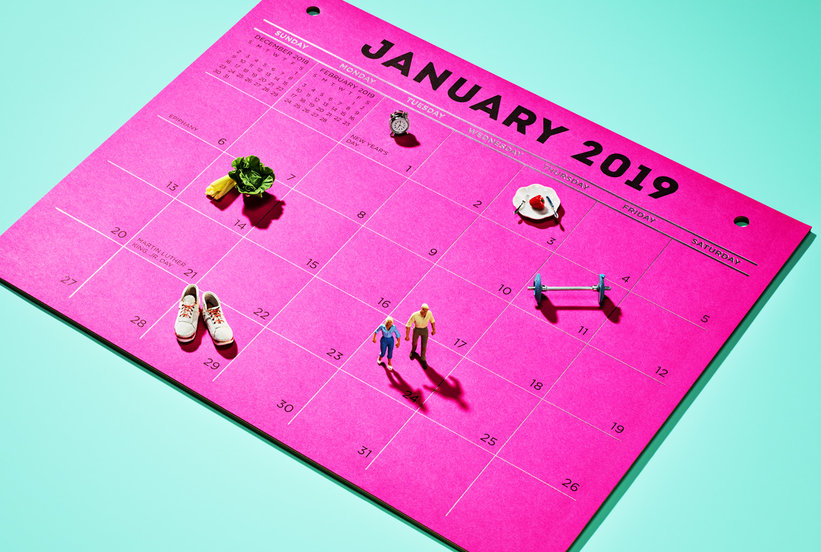 8 Health Goals You Can Actually Stick to in 2019