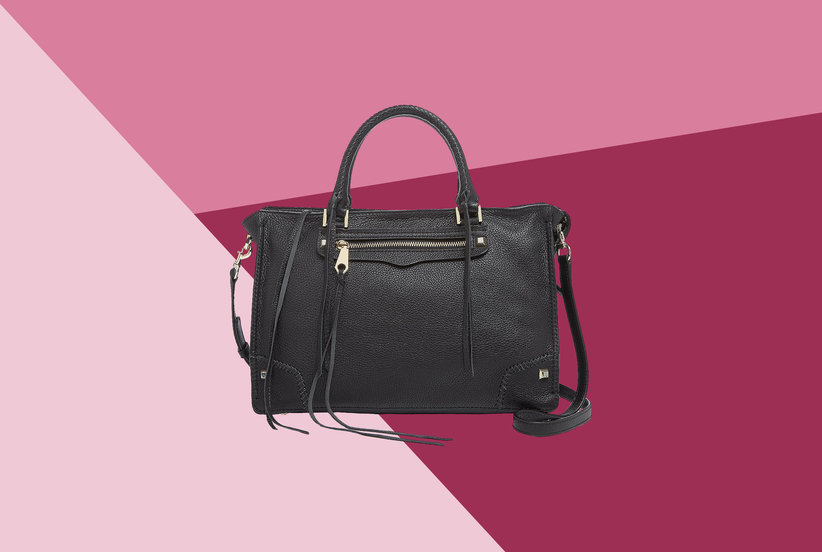 b2585033de Shop the Rebecca Minkoff Regan Leather Satchel from Bloomingdale's After  Christmas Sale | Real Simple