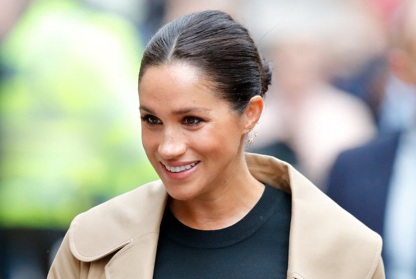 Meghan Markle Wore Her Edgiest Earrings Yet and They're Perfect for Valentine's Day