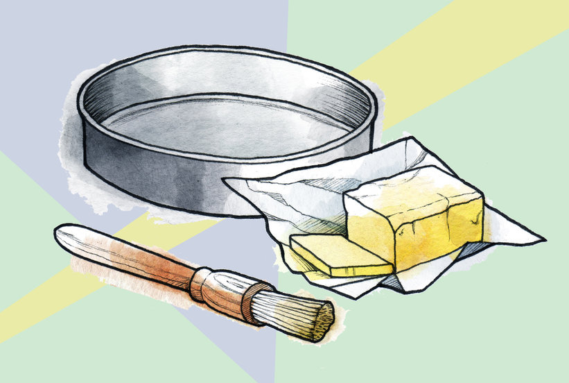 How to Prep a Baking Pan