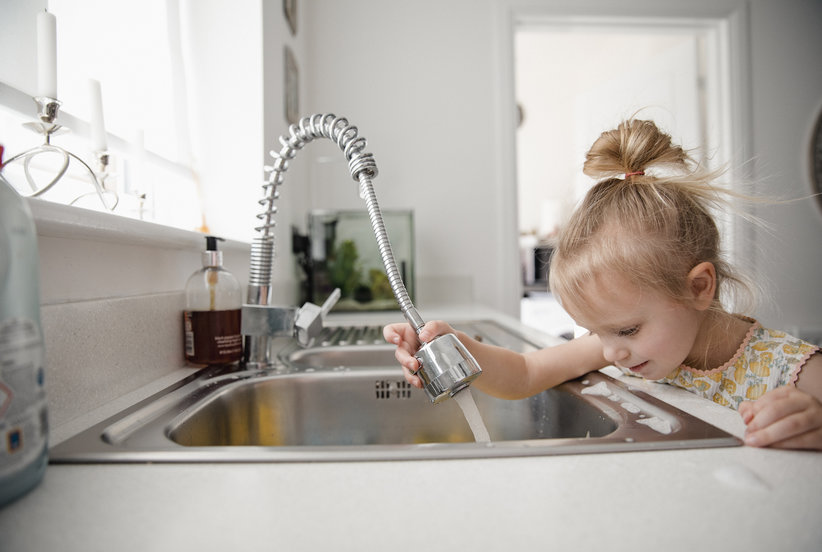 Why You Should Sprinkle Baking Soda into Your Stainless Steel Sink