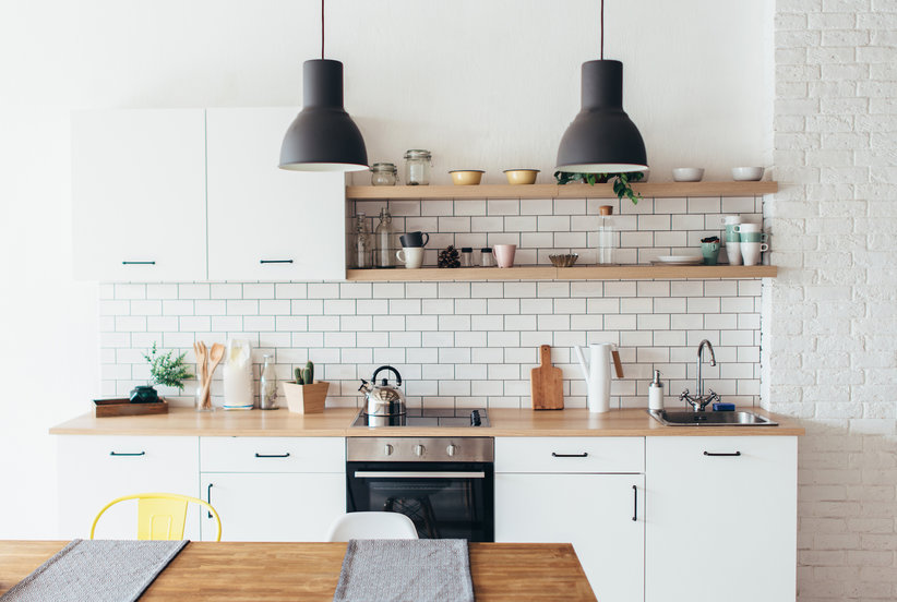 This High Contrast Trend Is Taking Over Kitchen Cabinets
