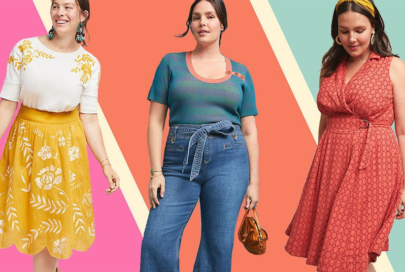 ff8a01f1f Anthropologie Just Extended Its Clothing Sizes Up to 26 and We've Never  Loved the