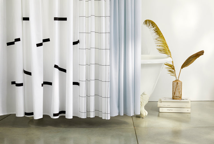 Brooklinen's Chic New Shower Curtain Is the Easiest Way to Upgrade Your Bathroom