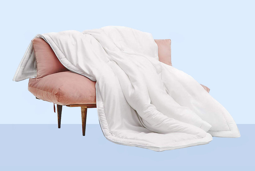 """This Eucalyptus Comforter Is Deemed the """"Most Comfortable on Earth""""—And It's Now Available on Amazon"""