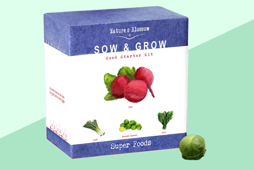 You Can Grow Your Own Exotic Veggies, Superfoods, and More With These $22 Gardening Kits
