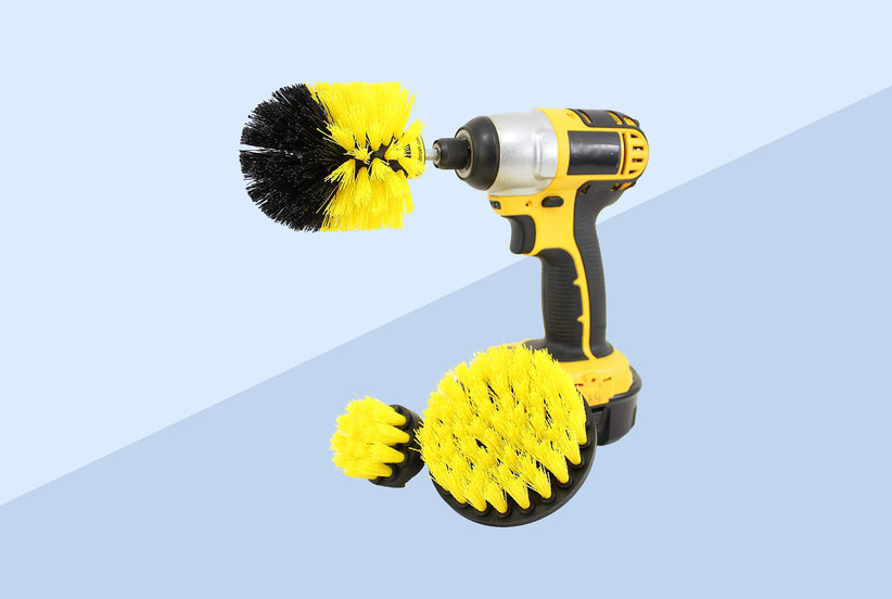 This Scrubber Brush Is the Secret to Cutting Your Cleaning Time in Half, According to 2,600 Amazon Shoppers