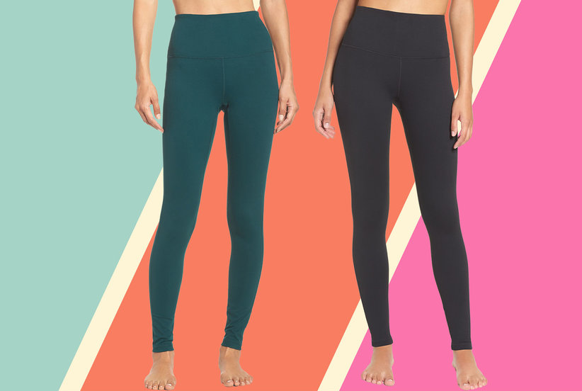 Nordstrom's Best-Selling Leggings With 5,000 Rave Reviews Are on Super Sale Right Now