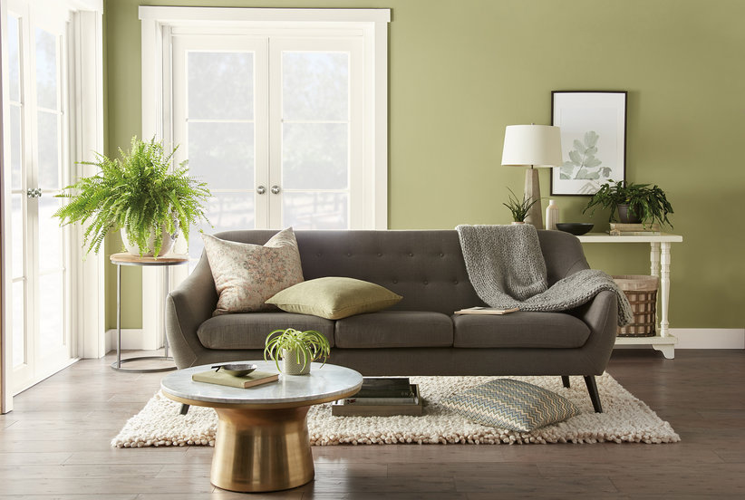 Behr Just Unveiled Its 2020 Paint Color of the Year—5 Ways to Use It in Your Home Right Now