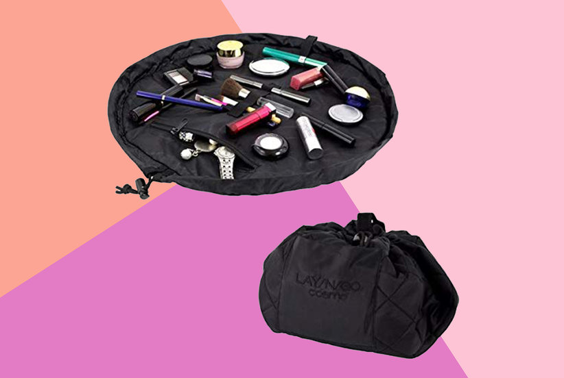 This Clever Makeup Bag Helps Even the Most Disorganized People Keep It Together