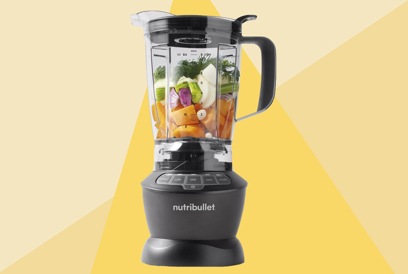 NutriBullet's First-Ever Full-Size Blender Crushes Food in Seconds—and I'm Hooked