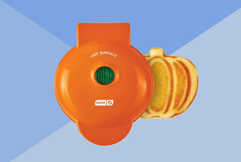 You Can Now Make Pumpkin-Shaped Waffles in Amazon's Best-Selling Waffle Iron