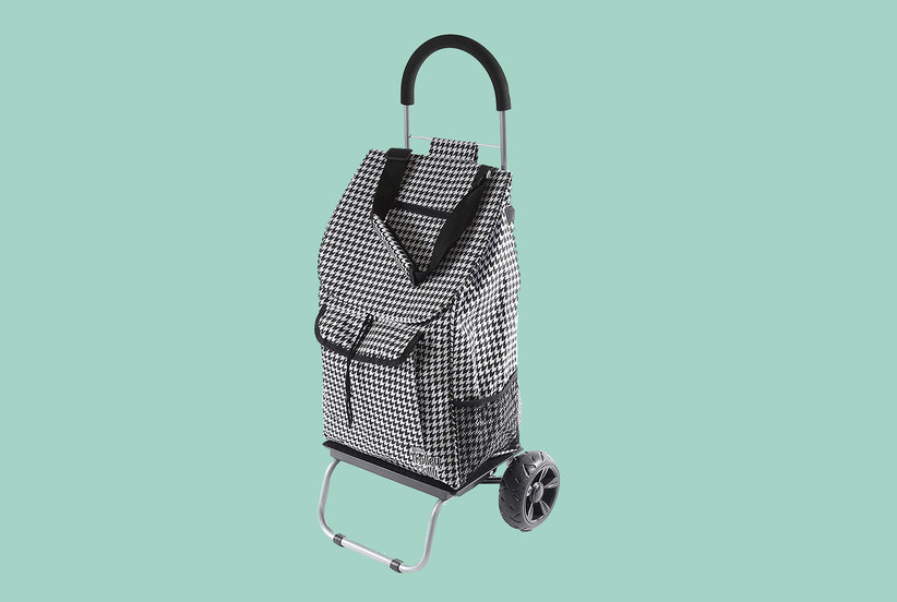 This Foldable Shopping Cart Has Made Running My Weekly Errands So Much Easier