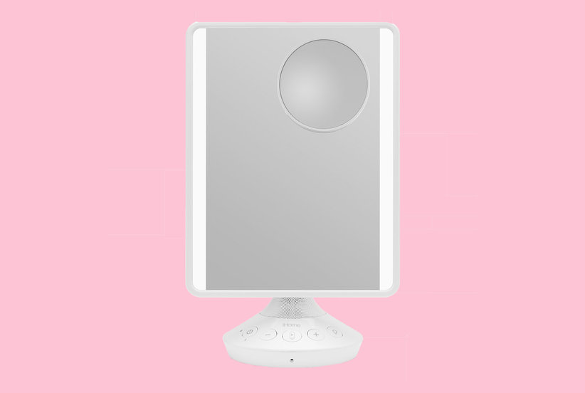This Makeup Mirror Doubles as a Smart Assistant and Speaker—and We Need One ASAP