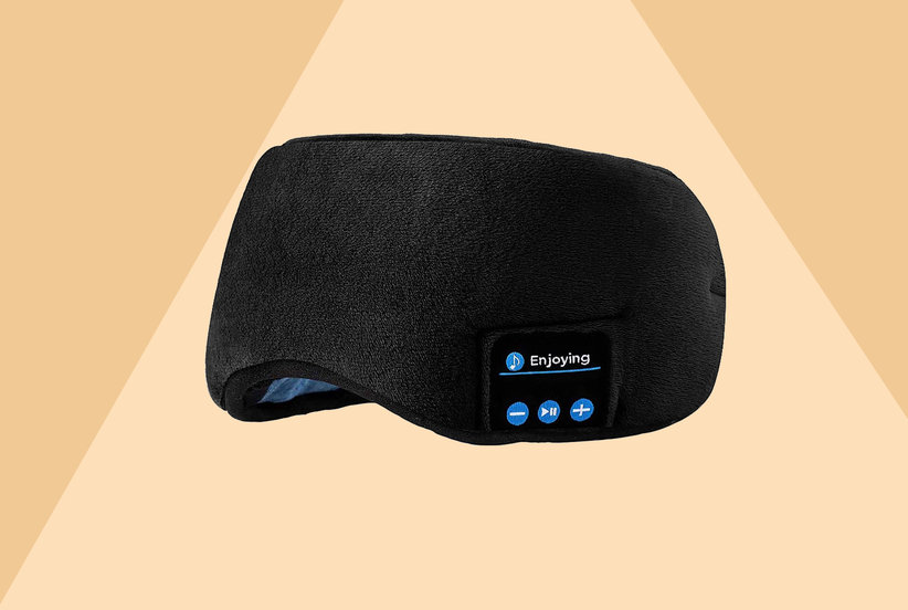 This Genius Eye Mask Has Built-in Bluetooth Headphones So You Can Sleep Soundly