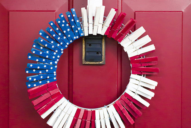 4th Of July Decor 11 fourth of july decorations you can make yourself | real simple