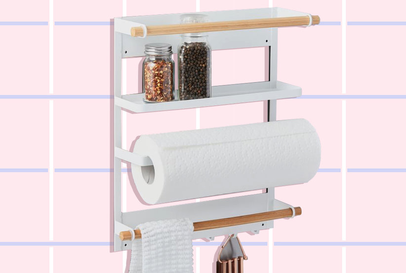 Brilliant Ways to Turn Unsightly Appliance Gaps into Extra Storage Space