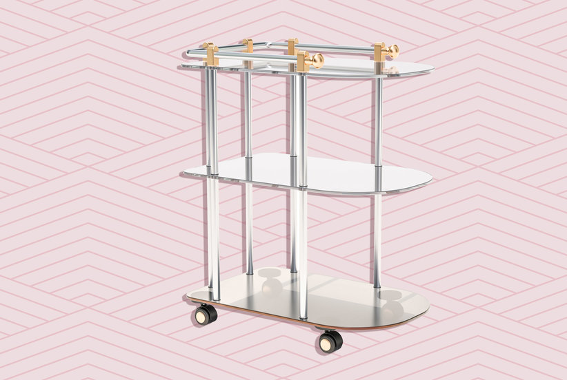 11 Gorgeous Bar Cart Ideas (That Have Nothing to Do With Booze)