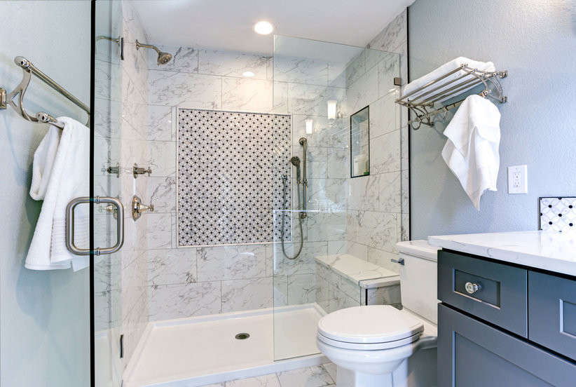 Bathroom Design Tricks for a Cleaner-Looking Bathroom ...