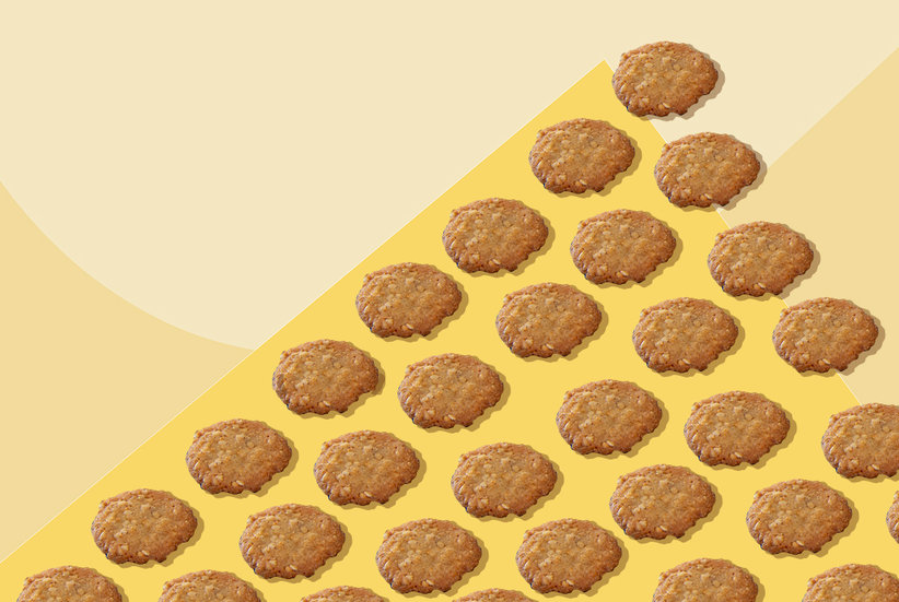 Trader Joe's New Benne Wafer Cookies Are the Secret Sauce in this Two-Minute Dessert