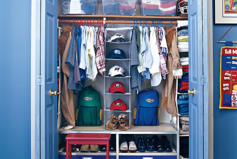 7 smart ways to organize your kids closet real simple