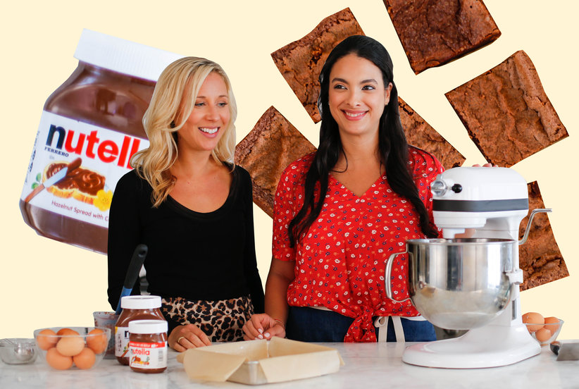 Here's How to Make Two-Ingredient Nutella Brownies