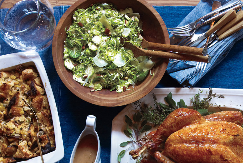 Shaved Brussels Sprouts With Manchego and Almonds | 7 Fresh Salads for ...