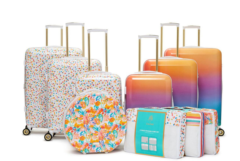 7ee38ef531 Oh Joy's New Luggage Collection Is What Rainbow Dreams Are Made Of