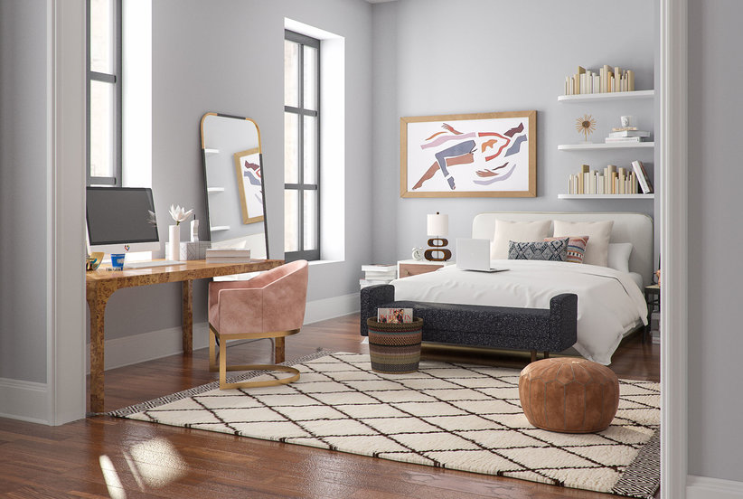 Interior Designers Created a Modern Version of Carrie's Sex and the City Apartment—and It Looks So Gorgeous