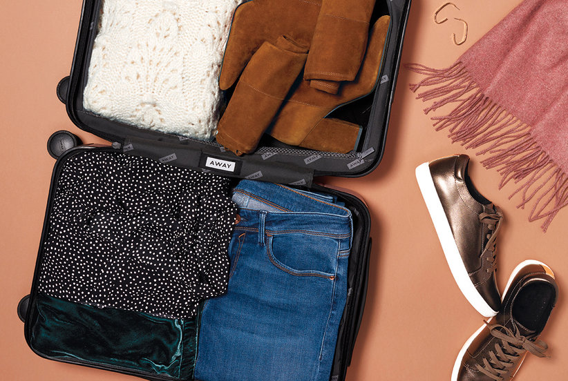 Here's An Entire Holiday Wardrobe—and It All Fits in a Carry-On