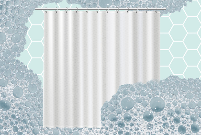 I Just Discovered the $3 Secret to Cleaning a Grimy Shower Curtain Liner Quickly