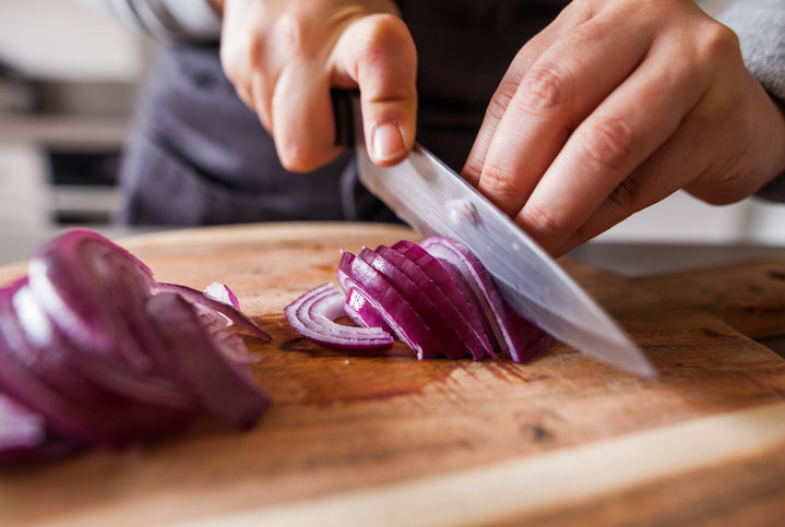 How To Slice An Onion Video And Steps