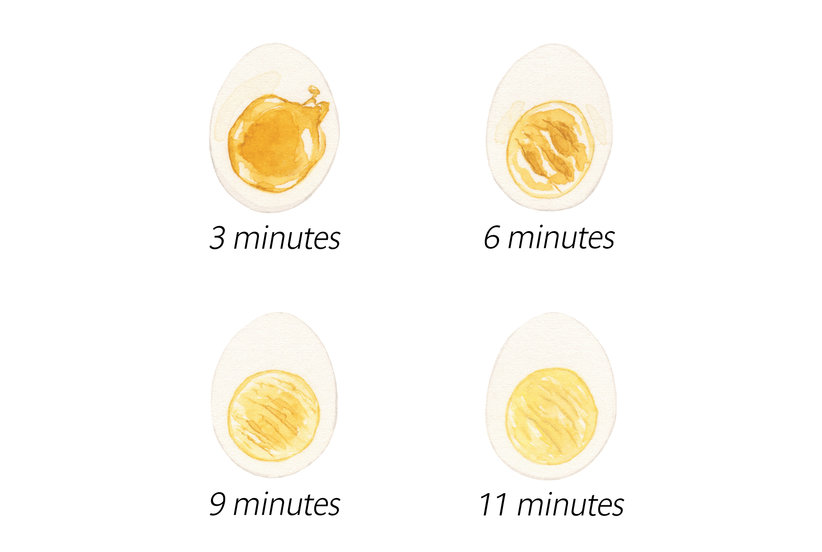 Getting Soft- and Hard-Boiled Eggs Just Right