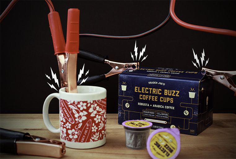 "Trader Joe's New ""Electric Buzz"" K-Cups Are Seriously Strong"