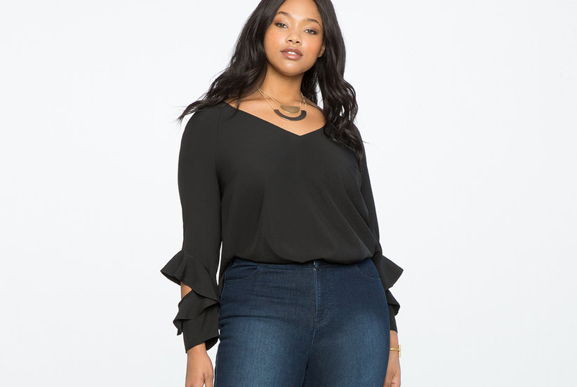 These Plus Size Jeans Are So Good, They've Already Sold Out Twice