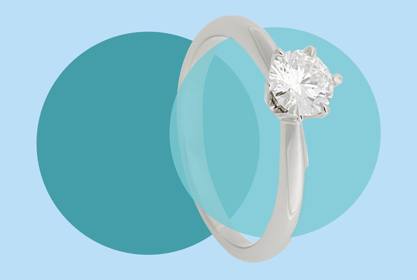 5952ea9c8 The Ideal Engagement Ring Size Is Way More Reasonable Than You'd Expect