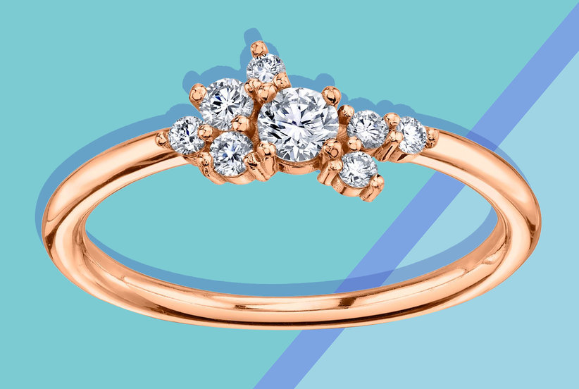 14 Minimalist Engagement Rings That Are Easy to Wear Every Day