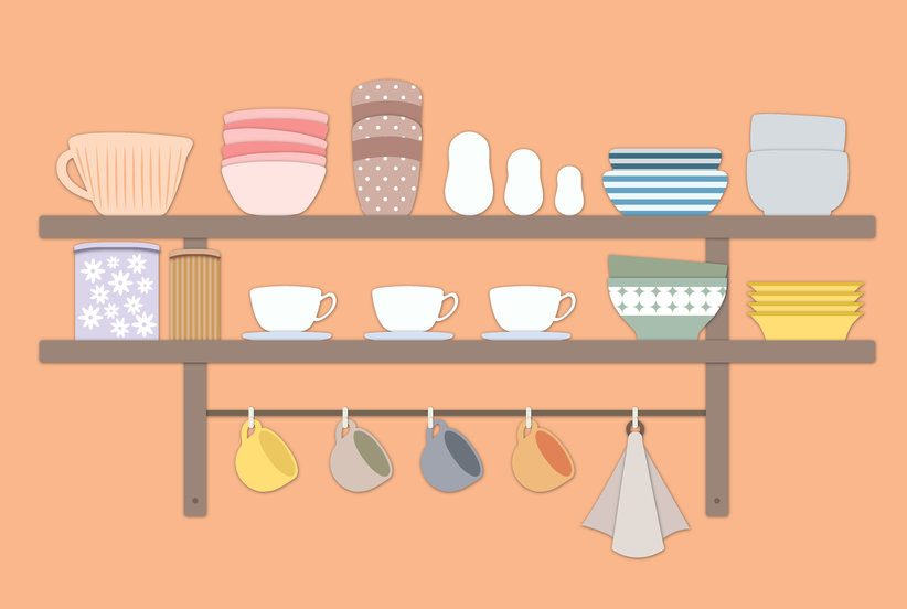 8 Smart Ideas for Organizing Your Kitchen Coffee Bar