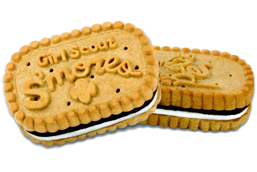 girl scouts just announced new s mores cookies real simple