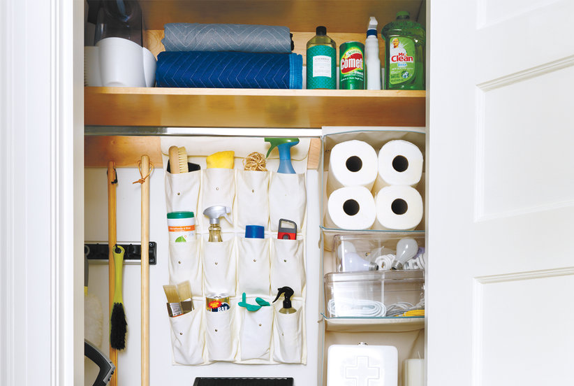 This Is The Best Way To Organize Your Utility Closet