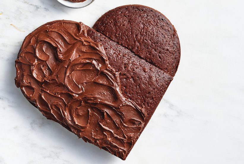 How to Make a Heart Cake Real Simple
