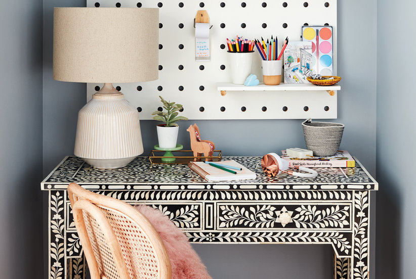 Home Office Furniture So Charming You'll Want to Work Extra Hours