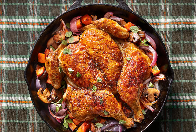 The Crispiest, Juiciest, 30-Minute Roast Chicken