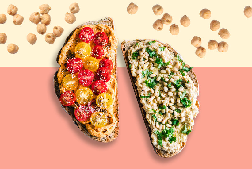 Why You Should Start Eating Hummus Toast, Stat